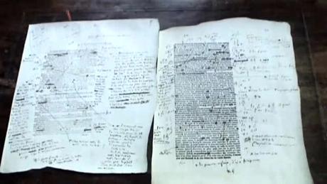 バルザックの原稿