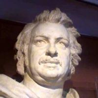 バルザックの彫像