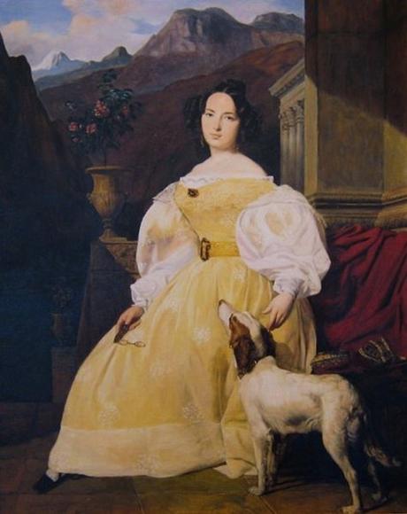 ハンスカ婦人1835年