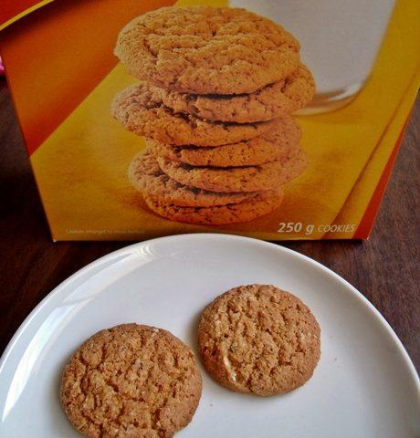 オートミールクッキー実物