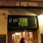「虎と小鳥のフランス日記」第90話 ル・プレヴェール(パリのレストラン)