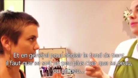 虎と小鳥のフランス日記 第93話 イヴ・ロシェで化粧