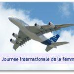 国際女性デー:エールフランスは女性乗務員だけでエアバスA380を運行