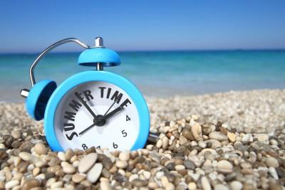 サマータイムの時計