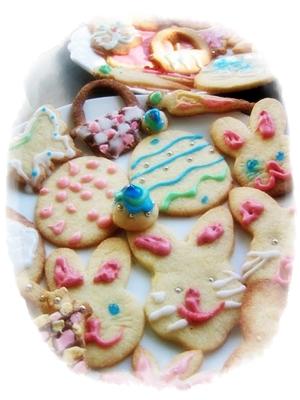 イースターのクッキー