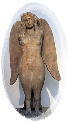 サイレンの彫像