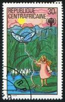 おやゆび姫の切手