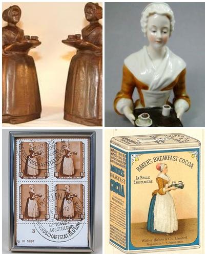 チョコレートを運ぶ娘 オマージュ