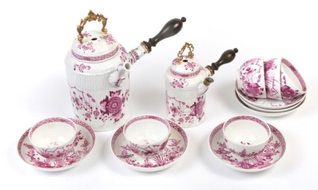 18世紀 マイセン チョコレートセット