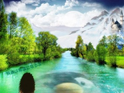 湖にて沐浴