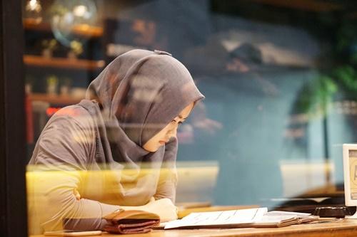イスラム教徒の女性