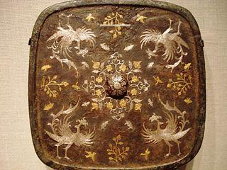 唐時代の青銅の鏡