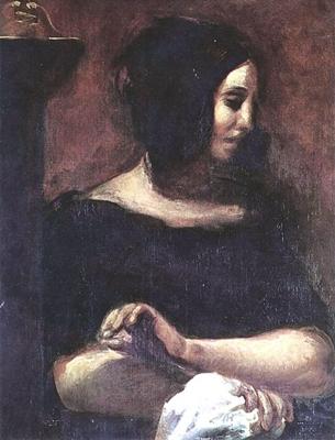 ドラクロワの描いたサンド