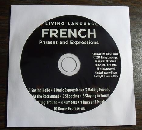 フランス語学習用カレンダー おまけのCD