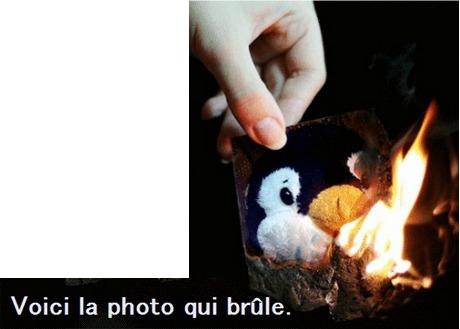 pen・燃える写真