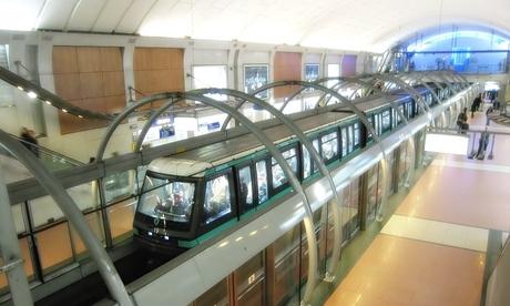パリメトロ14番線~シャトレ駅