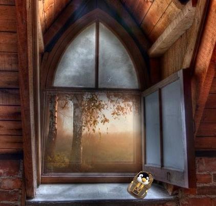ダンジオンの窓