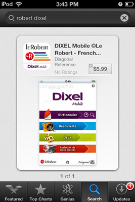 le robert Dixel mobile