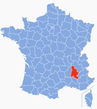 ドローム県(南仏)