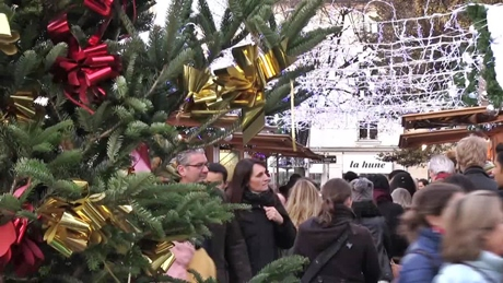 クリスマスマーケット(サン・ジェルマン・デ・プレ)