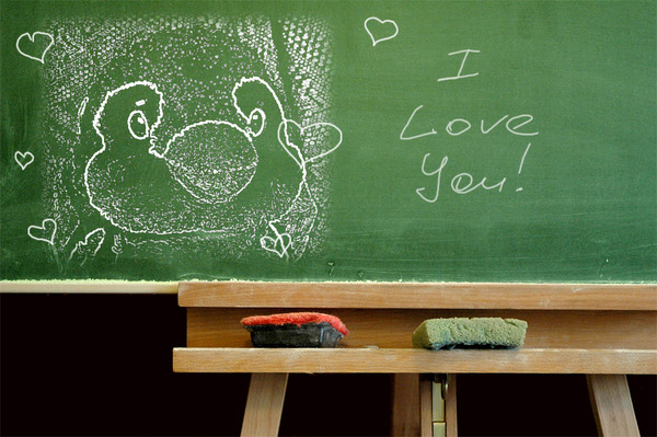 pen 黒板