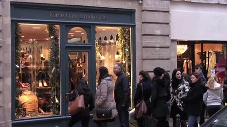 パリの冬のセール