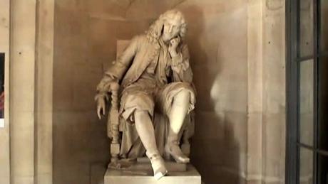 モリエールの像