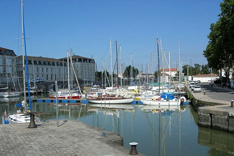 ロシュフォールの港