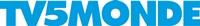 TV5MONDEのロゴ