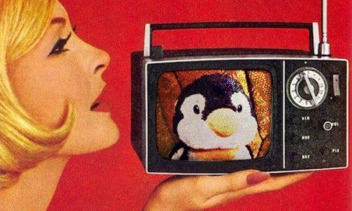 小さなテレビ