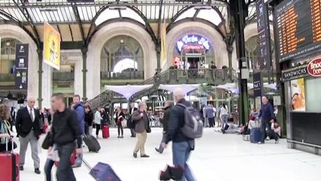 パリのリヨン駅
