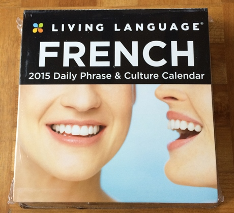 フランス語勉強用カレンダー