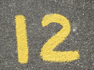 数字の12