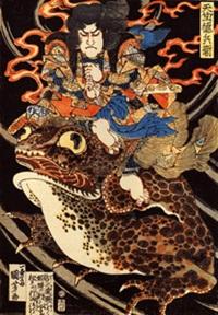 歌舞伎のガマガエル