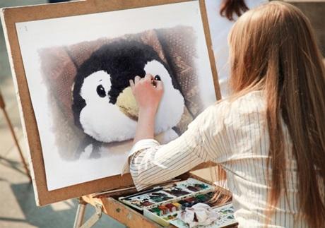 pen 絵画