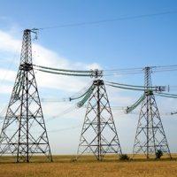 カザフスタンの電線