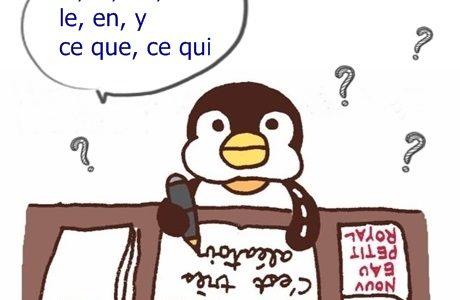 フランス語勉強中