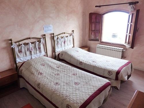 2つのベッド