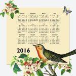 カレンダーに関係ある単語~かわいいフランス語教えます(102)