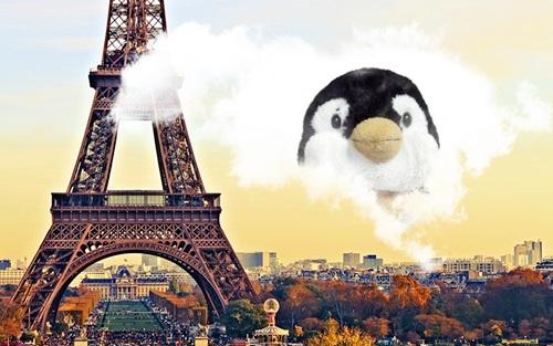 パリのペン