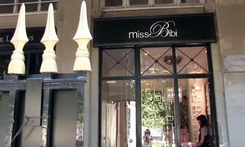 Miss Bibi店舗前