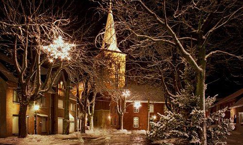 クリスマスの街角