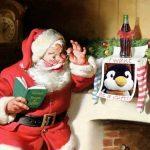 サンタクロースの由来。現在のサンタのイメージはコカコーラの宣伝から