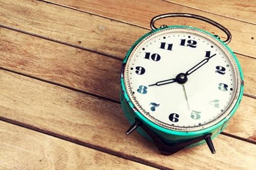 レトロな目覚まし時計
