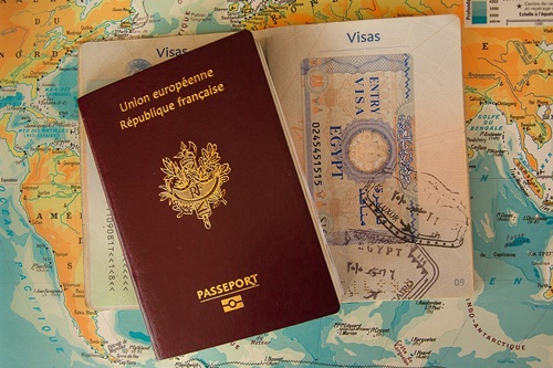 フランスのパスポート