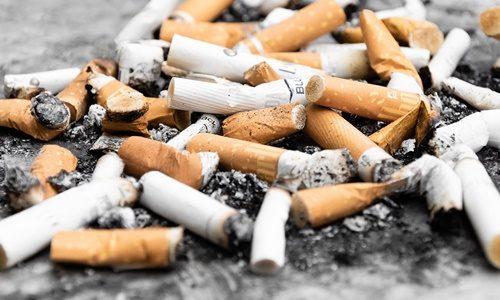 たばこの吸い殻