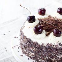 黒い森さくらんぼケーキ