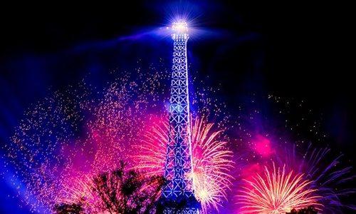 パリの花火
