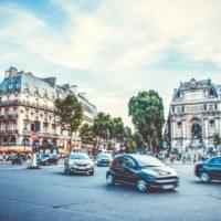 パリの街なみ。