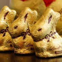 イースターバニーのチョコレート